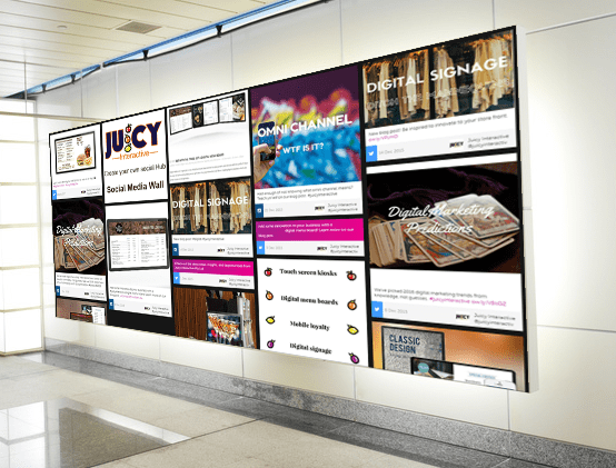 High Tech Event Activities – Social Media Wall